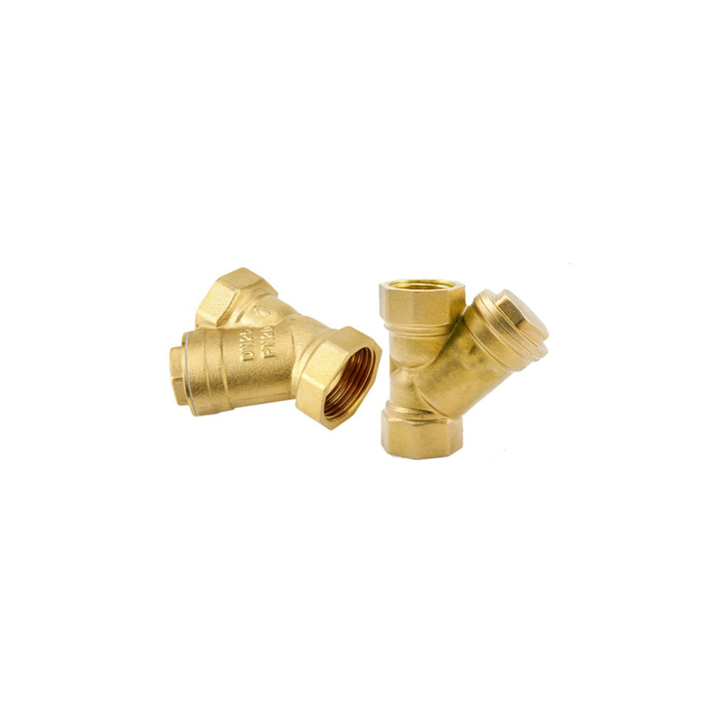 Brass Y Type Strainer Filter Valves