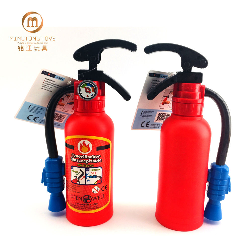 Popular Children Small Plastic Fire Extinguisher Water Gun Toy For Kids