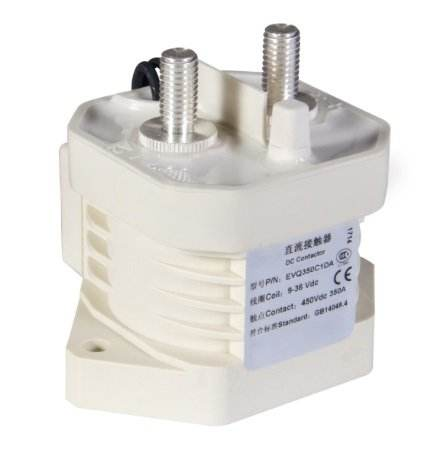 Magnetic Contactor 350A Current High Voltage DC for Charging Piles Electrical Equipment