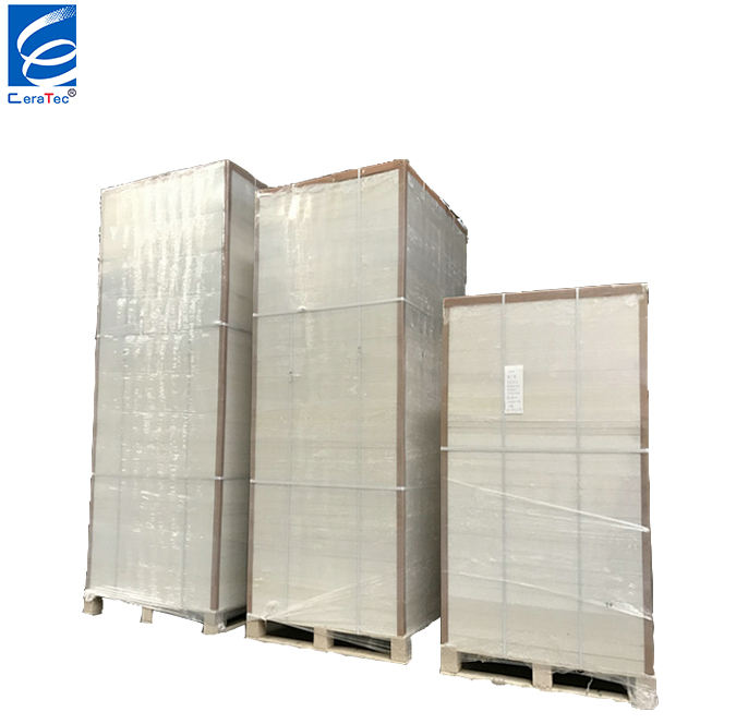 CT 1260 Standard Ceramic Fibre Board For Industrial Kilns China Factory