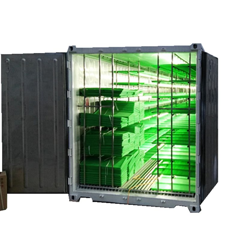 Hydroponic Tray Plastic Fodder Growing Systems With 1500kg Per Day