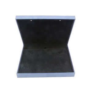 Wholesale High-end Plastic Jewelry Box within velvet large square necklace box jewelry packaging box