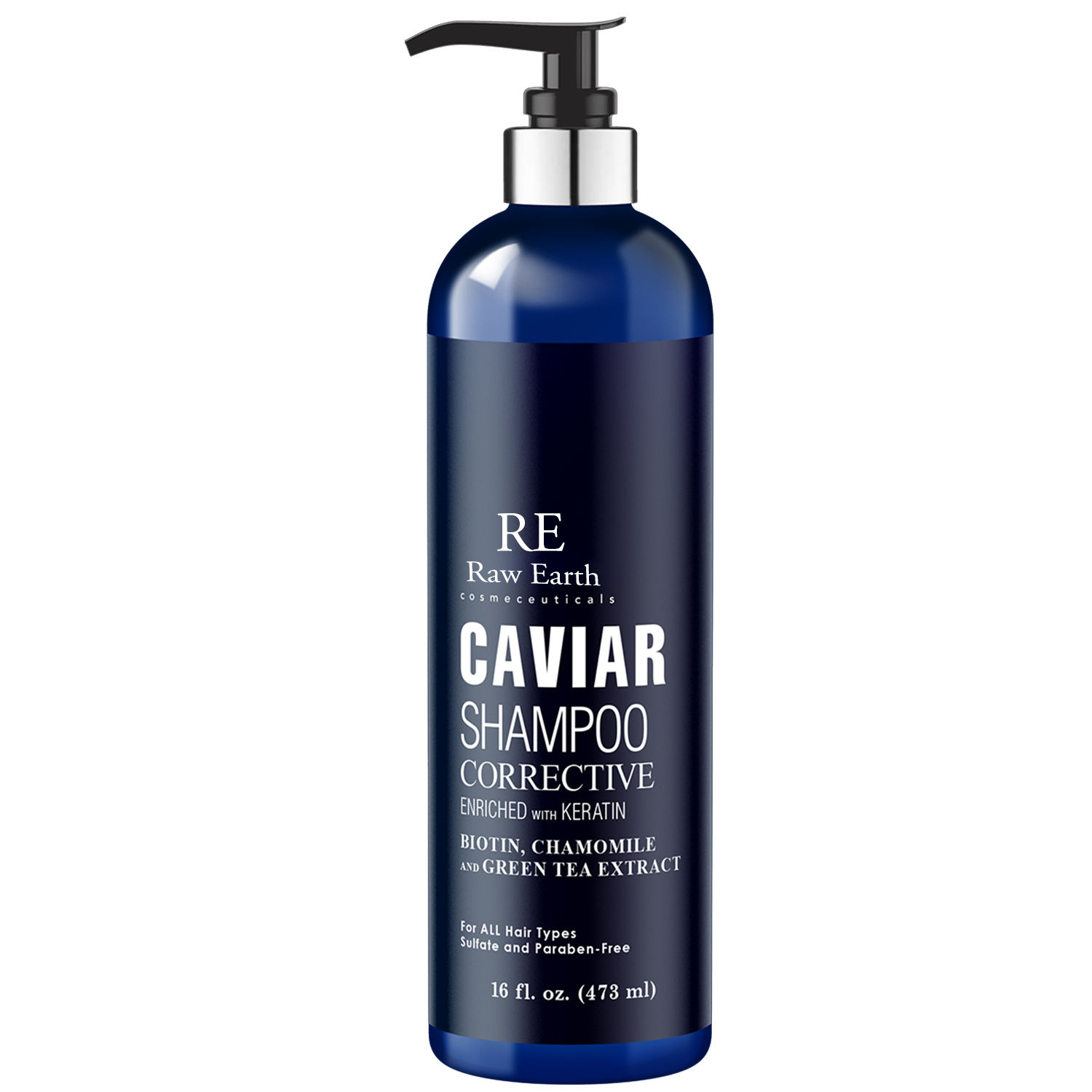 Rohe Erde angereichert mit Keratin Correct ive Caviar <span class=keywords><strong>Shampoo</strong></span>