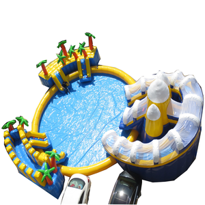 Top Sale  Customized Waterpark Giant Inflatable Water Park Equipment High Quality Floating Inflatable Aqua Park