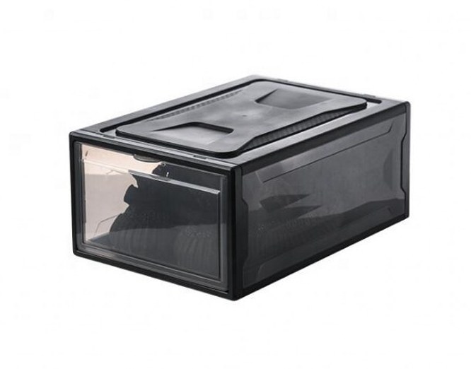 2021 Amazon Hot seller Clear shoe display case sneaker acrylic shoe box storage magnetic