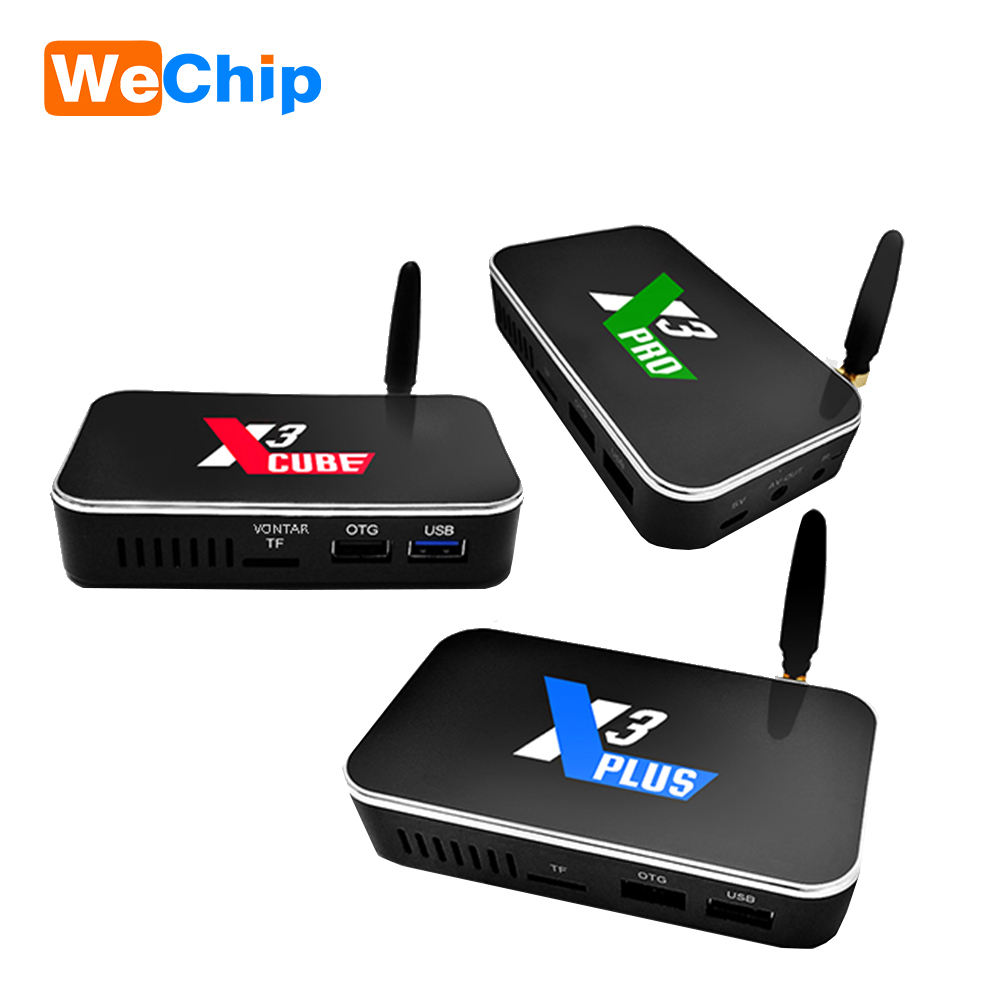 ใหม่ล่าสุด 4 K HDR Smart TV S905X3 Android 9.0 WiFi dongle สำหรับ Set Top Box ugoos X3 Cube