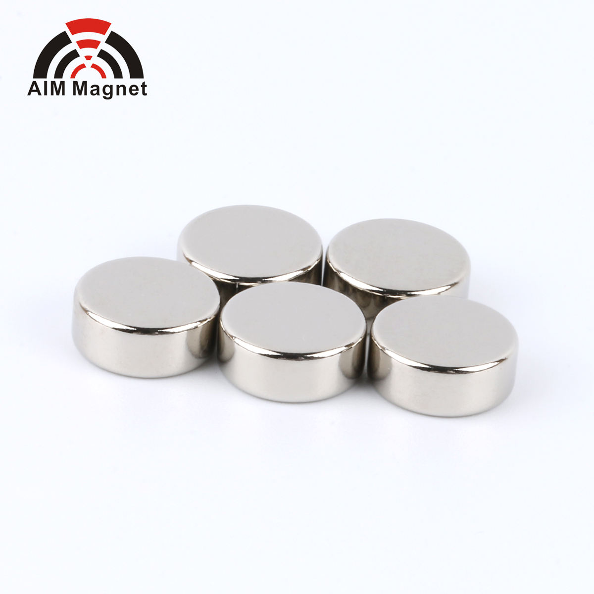 Magnetic Rare Earth Round Disc Strong Neodymium Magnet N52