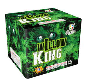 Jeeton fireworks JT2017 willow king 12 shots 500g cake for consumer fireworks