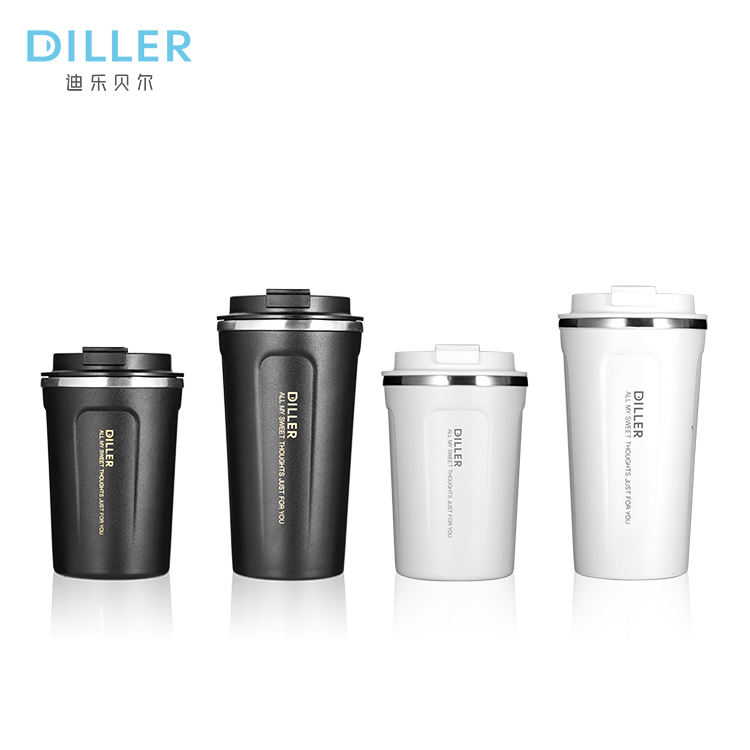 Custom logo 450ml 12oz stainless steel vacuum insulated thermo travel beer coffee mug