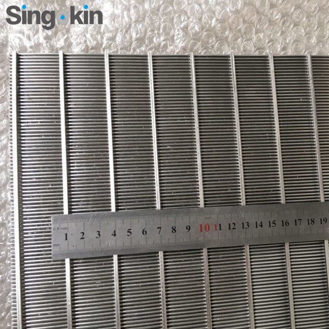SS Wedge Wire Screen Sieve Plate Wire Mesh Welded Lauter Tun Screen