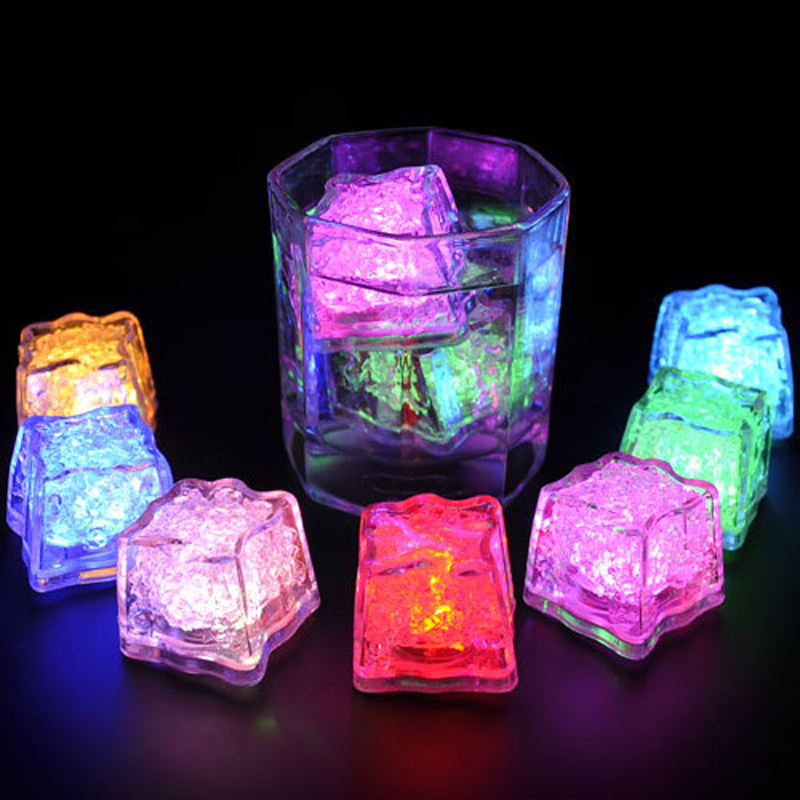 Sidiou Gruop Custom Plastic Glow Ice Cube