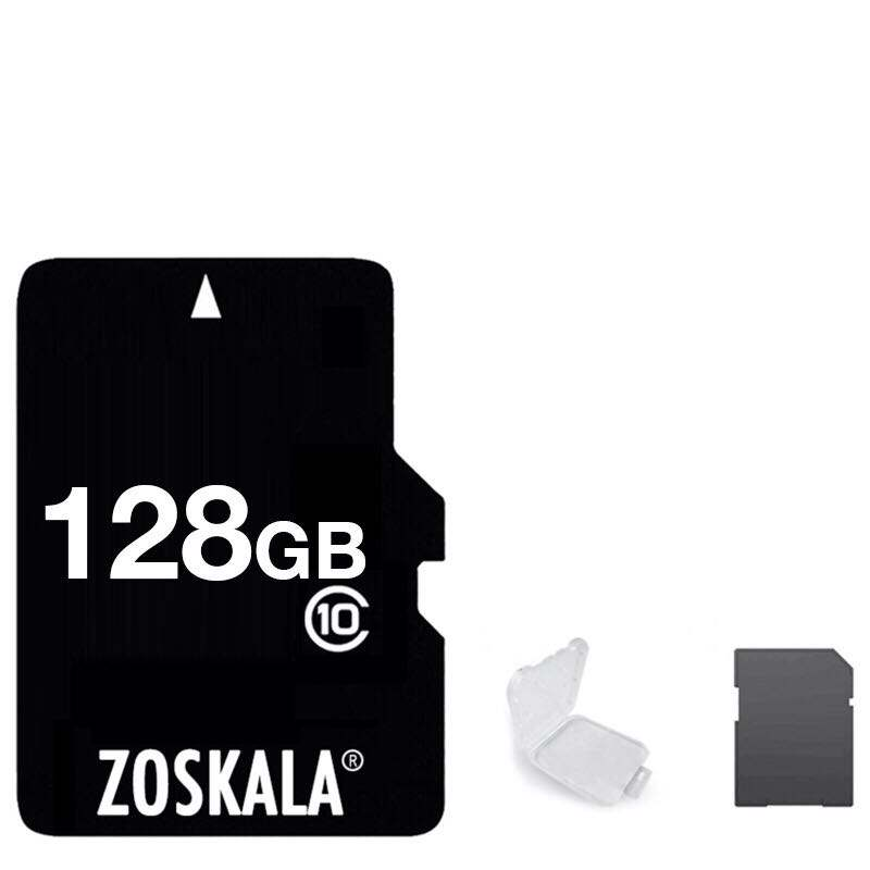 100% Genuine Original ZOSKALA Memory Card 16GB 32GB 64GB Class 10 Real Capacity TF card 1G 2GB 4GB 8GB Class 6 Memory TF