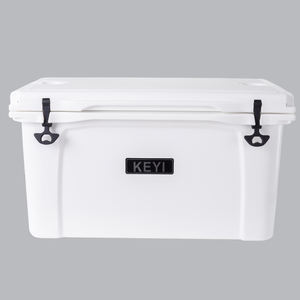 Heavy duty LLDPE Material Roto Molded Outdoor Fishing Hard Cooler Box