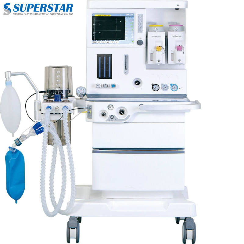 S6100PLUS hospital clinic neonatal infant adult surgery instrument operation theater room anesthesia work station ventilator