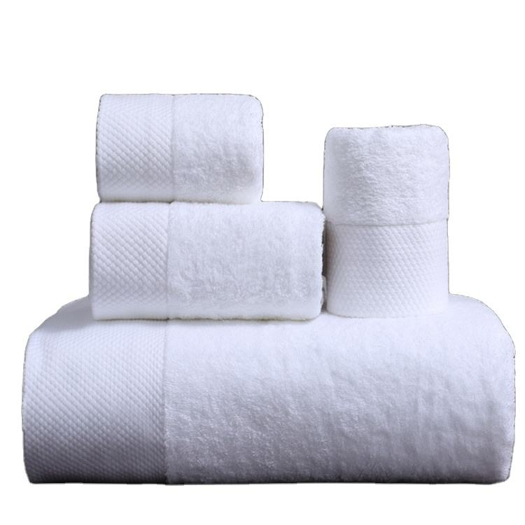 100% Cotton American Bath Towel Set for Hotel and Home Use