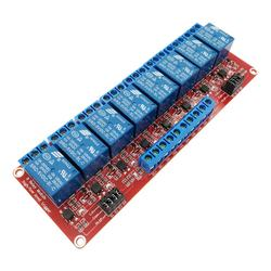 8 Channel 5V 12V 24V Relay Module Board Shield with Optocoupler Isolation Support High and Low Level Trigger