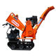 15Hp Petrol Powered Engine With Electric Start Garden Machine Tracked Wood Chipper Wood Chipper Wood Chipping Machine To Crush