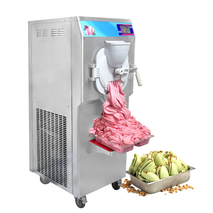 Kolice factory price CE ETL certificate Italian commercial hard ice cream machine/batch freezer/gelato machine