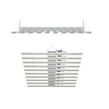 CE Rohs certificates China supplier hot sales led grow light hydroponic Samsung LM301B for indoor garden bar 10 strips