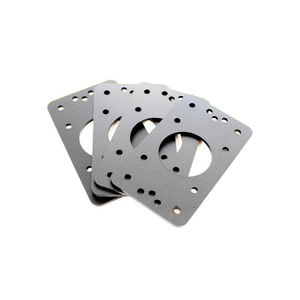 Small Quantities Production Cnc Machining Shims Stainless Steel Shims Machining Knurled Aluminum Parts Extension Nut