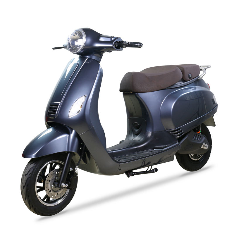 Cheap price china vespa 60V 800W electric scooter with double seat for adult