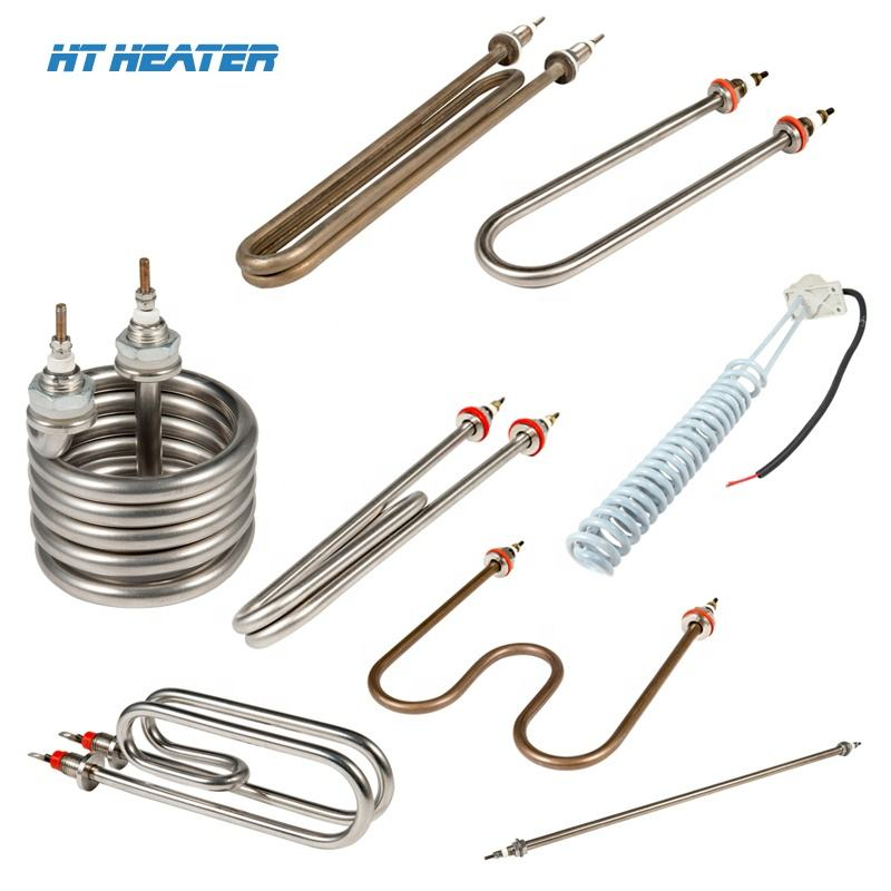 Water Immersion Heater Rod 110 Volt Industrial Electric Stainless Steel Resistance Immersion Water Rod Heater Heating Tube For Boiler