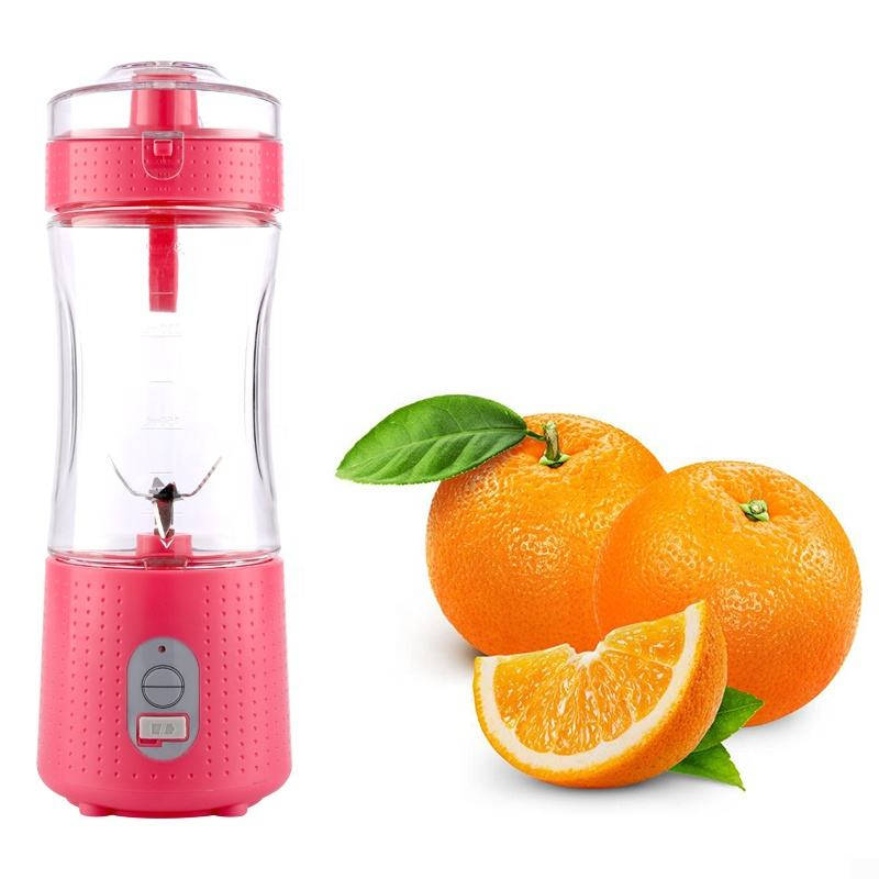 Popular Electrical Portable juicer mini USB rechargeable Omega juicer 4000mah 7.4v battery Personal portable Blender cup