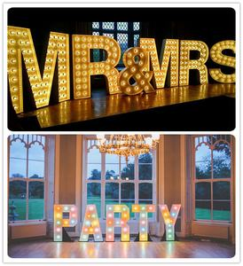 Marquee Letters Event Party Wedding Decoration