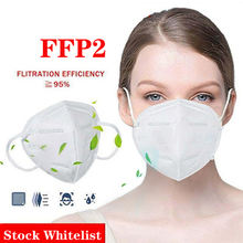 5 Pliegues FFP 2 mask respirator without filter remax production machine masque