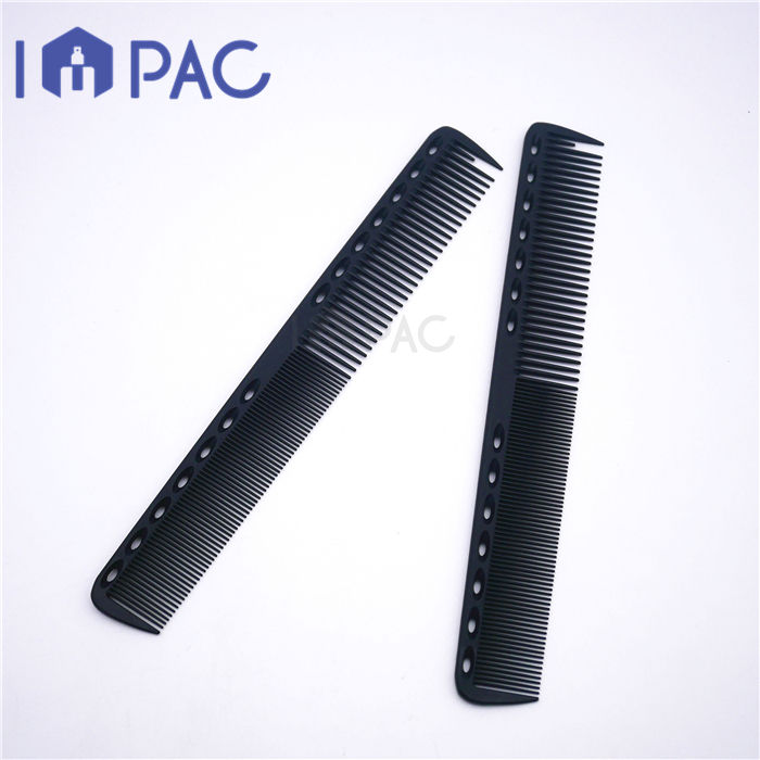 Professional hiar cutting black carbon fiber styling comb for baber