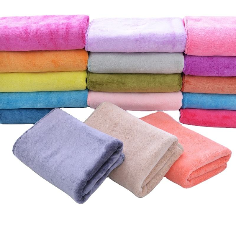 Promotion product super cheap absorbent microfiber fabric 100% polyester bath towel