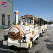 Shopping mall children rides used diesel electric train engine tourist amusement train for sale
