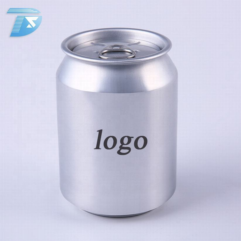 aluminum beer can shaped 250ml empty round tin mini beer can of bottles