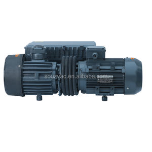 SV100 100m3/h Industrial Single Stage Oil Rotary Vane Vacuum Pump with gas ballast valve