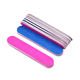 Colored oem nail file manufacturer wood wholesale cheap wooden nail file double side disposable mini nail file