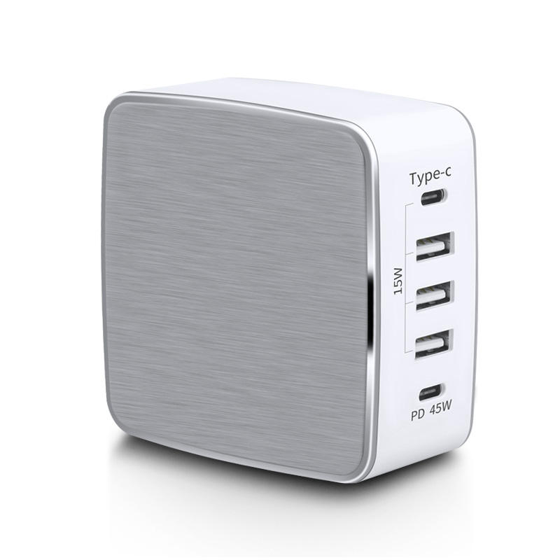 60w 5 port usb type c pd charger,universal portable mobile phone charging station