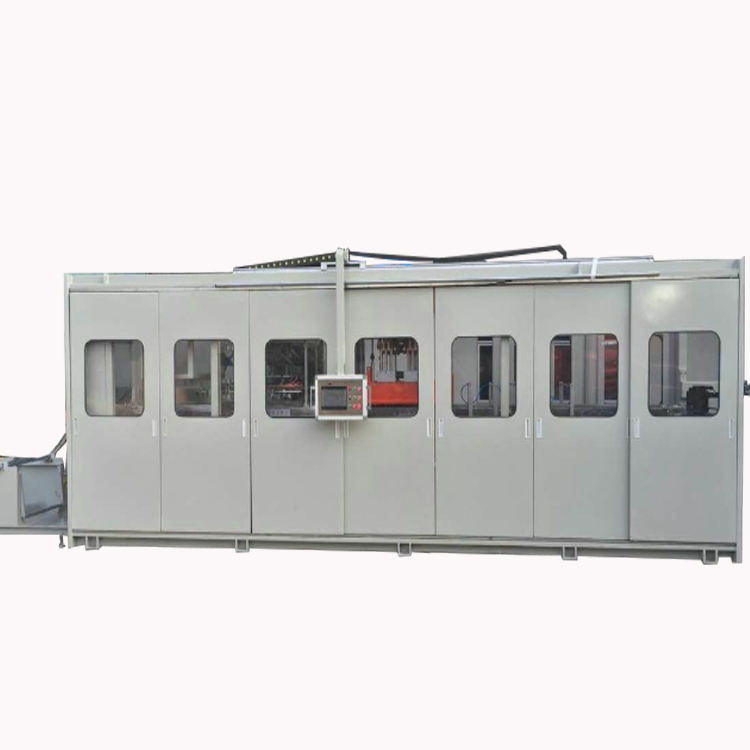 forming/cutting/stacking thermoforming machine