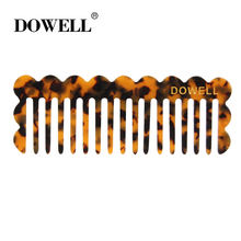 wholesale custom french Fashionable acetate accessories hair combs Korean fashion popular tortoiseshell color hair combs