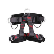 High altitude three hanging point type half body safety harness belt