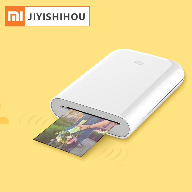 Xiaomi Mijia AR Printer 300DPI Portable Photo MiNi Picture Printer Pocket Camera DIY Share 500mAh Xiaomi Photo Printer