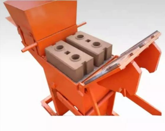 QMR2-40 small manual interlocking brick machine to earn money at home