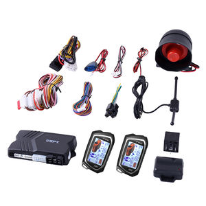 Spy two way LCD remote engine starter car alarm car security system
