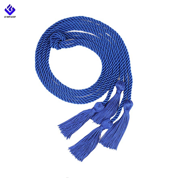 best price custom eco friendly tassel decorative graduation honor cords