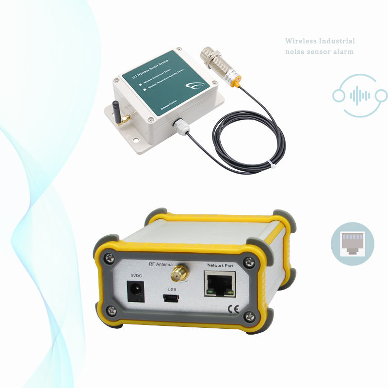 Wireless analog output iot Industrial noise sensor alarm