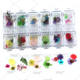 TSZS Wholesale 12 Colors Nail Art Broken Real Beauty Dried Flower Set Mixed Package Decoration For DIY Nails Design