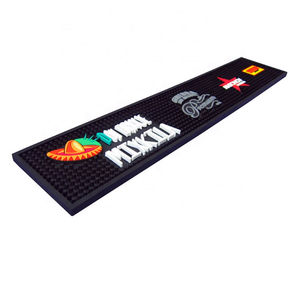 Cheap Promotion Gifts custom pvc bar mat bar spill runner
