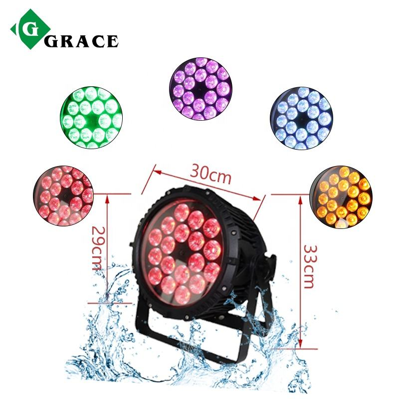 Grace Professional Dmx 512 Ip65 Waterproof Led Par Light