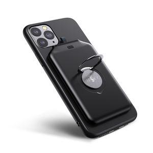 New Fast charging smart portable power banks 4000mah 5000mAh slim mini QI magnetic wireless power bank