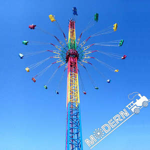Fairground Attraction Flying Tower Rides Thrilling Thrill Amusement Park flying tower For Sale