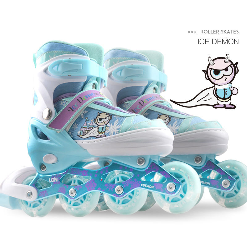 high quality led wheels custom inline shoes roller skates with lights